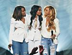 Beyonc� se re�ne com as ex-Destiny's Childs, Michelle Williams e Kelly Rowland