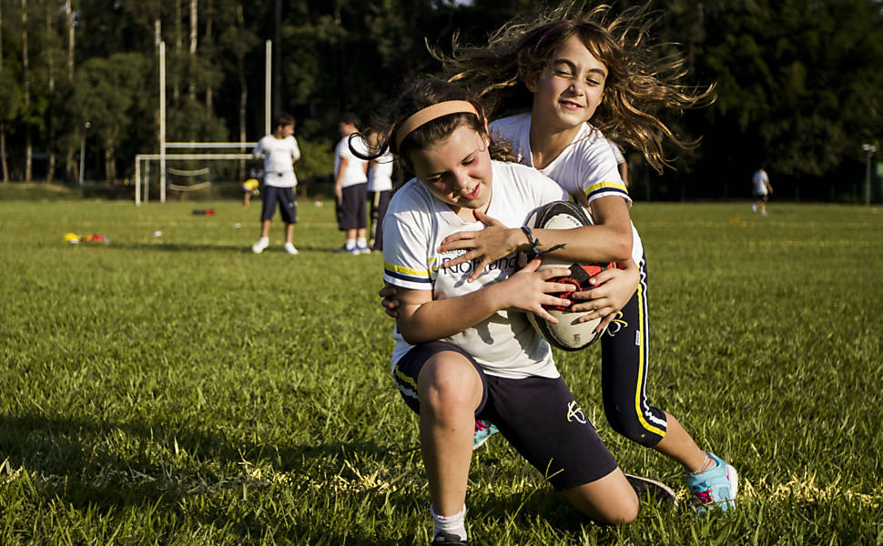 Crian�as no rugby