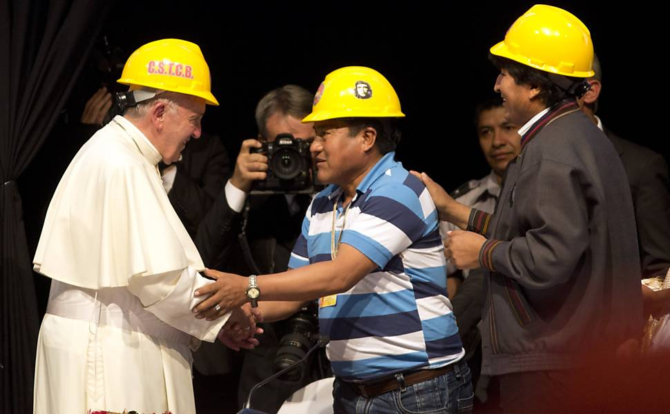 Visita do papa Francisco � Bol�via