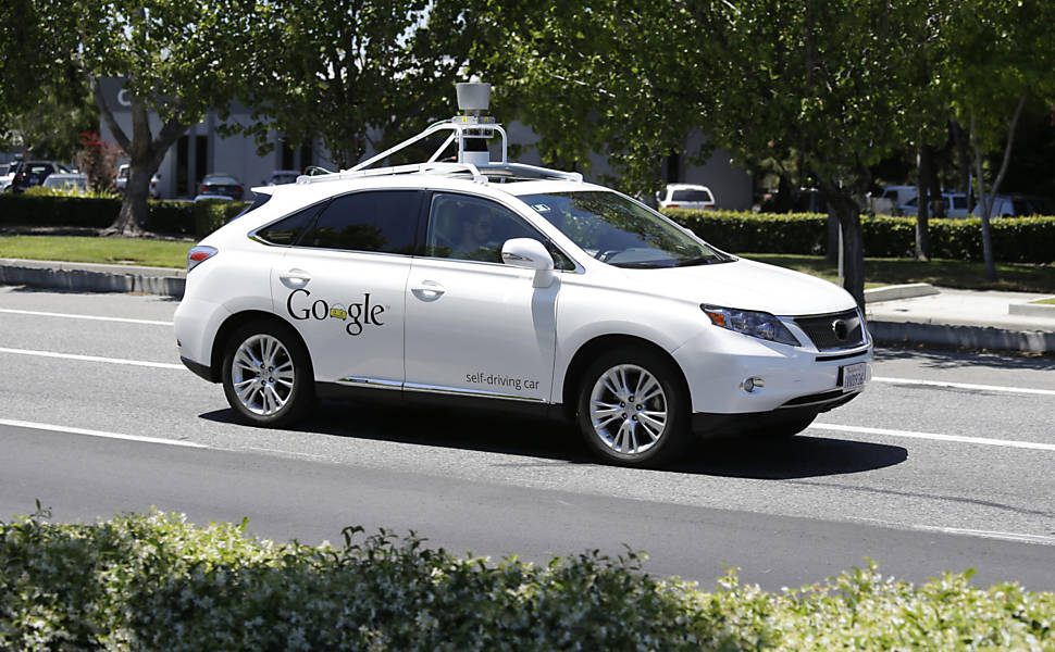 Experimentos do Google com carros sem motorista