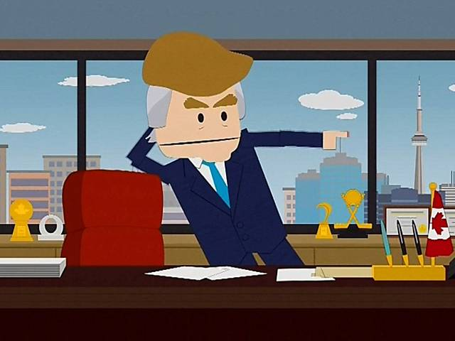 """South Park"" satiriza Donald Trump"