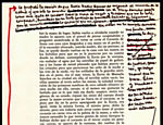 "Anotações de García Márquez sobre os originais de ""O Outono do Patriarca"". A imagem é parte do acervo do Nobel doado ao Centro Harry Ransom Center, na Universidade do Texas (EUA)"