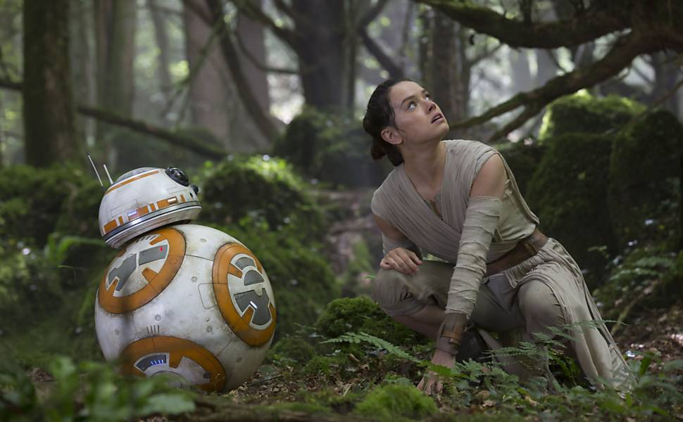 Star Wars - personagens do filme