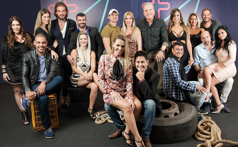 Participantes do reality 'Power Couple'