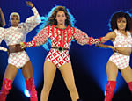 IMAGE DISTRIBUTED FOR PARKWOOD ENTERTAINMENT - Beyonce performs during the Formation World Tour at Marlins Park on Wednesday, April 27, 2016, in Miami, Florida. (Photo by Frank Micelotta/Invision for Parkwood Entertainment/AP Images) ORG XMIT: INVL