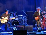 Show do cantor e compositor Bob Dylan, no Credicardhall, em abril de 2012