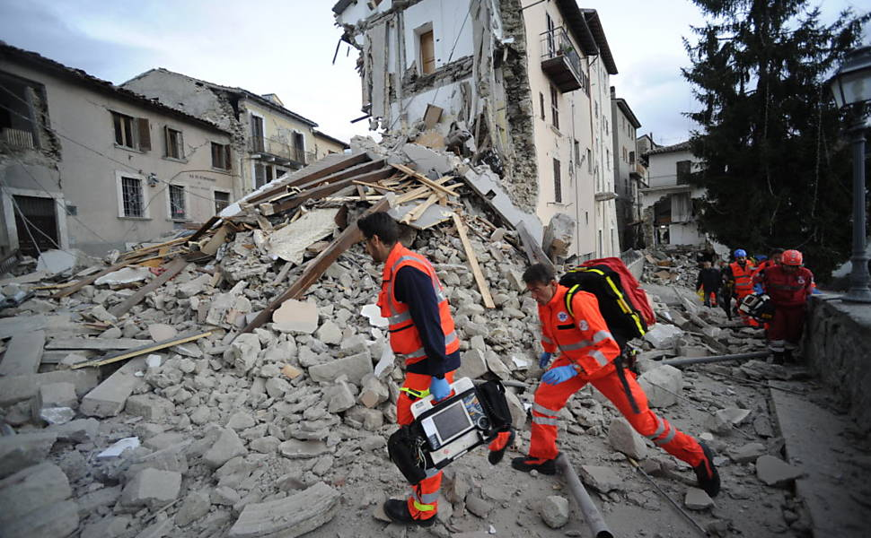 Terremoto na It�lia