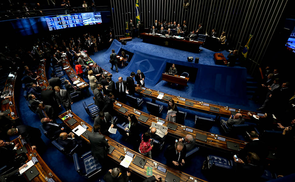 �ltimo dia da vota��o do impeachment