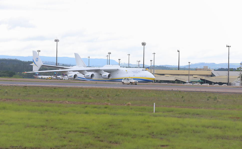 Antonov Mriya An-225, maior avi�o do mundo