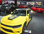 Dodge Charger sedan 2017 no Salão de Detroit