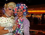 As drag queens Sissi Girl e Dindry Buck