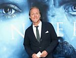 "O ator Jerome Flynn, que interpreta Bronn em ""Game of Thrones"", participa da estreia de gala no Walt Disney Concert Hall em Los Angeles"