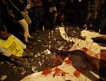 Manifestação contra a morte de catador em Pinheiros