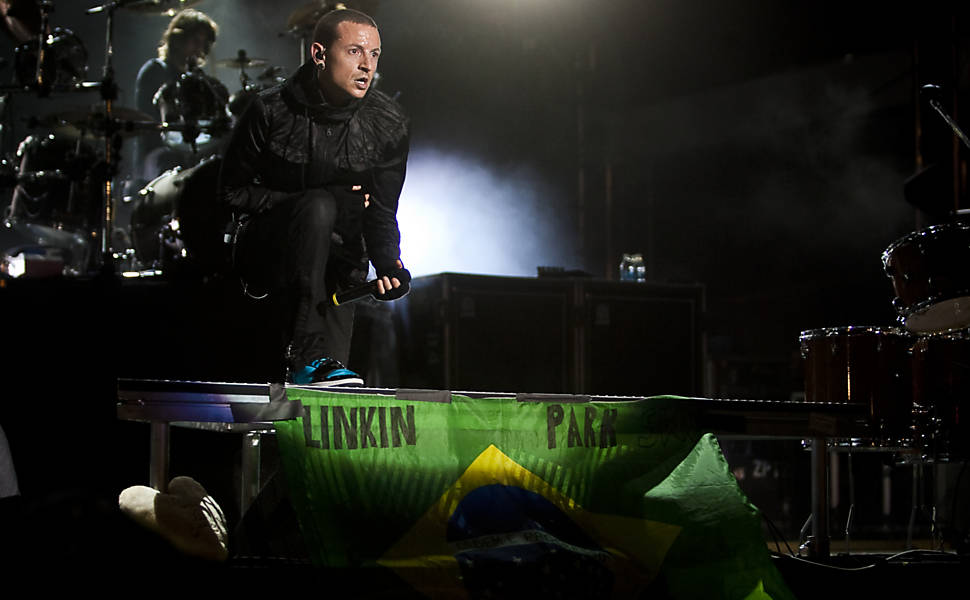 Chester Bennington, vocalista do Linkin Park