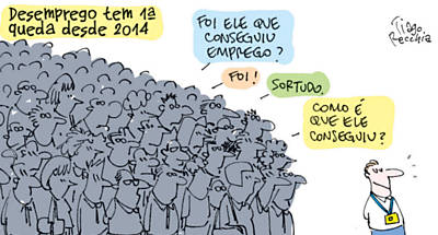Veja as charges de agosto