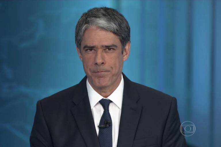 William Bonner e Renata Vasconcellos na nova reda��o do 'Jornal Nacional'