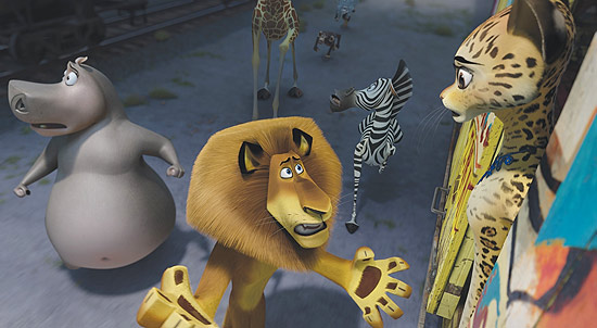 Animao &quot;Madagascar 3: Os Procurados&quot; tem verso 3D e previso de estreia para 7/6 nos cinemas brasileiros