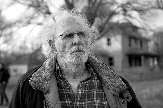 Bruce Dern interpreta Woody Grant em cena do filme 'Nebraska'
