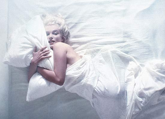 Marilyn Monroe (foto) retratada por Douglas Kirkland, em 1961; exposio sobre a atriz comea em 4 de maro