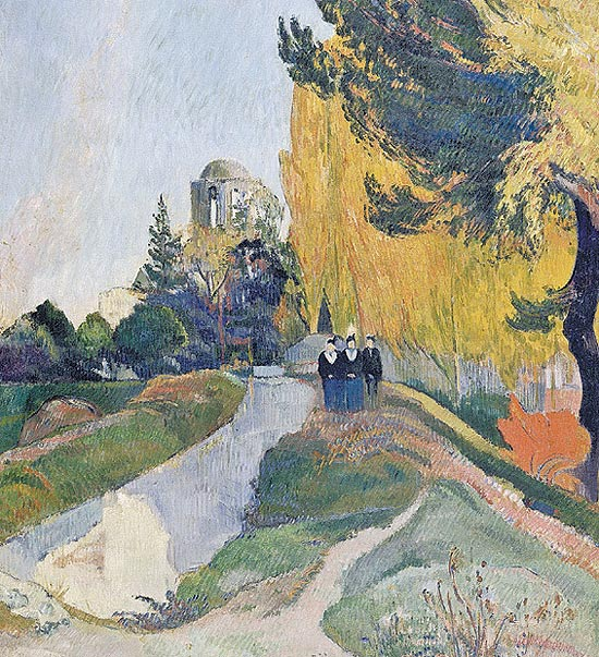 """Les Alyscamps"", de Paul Gauguin (1848-1903)"