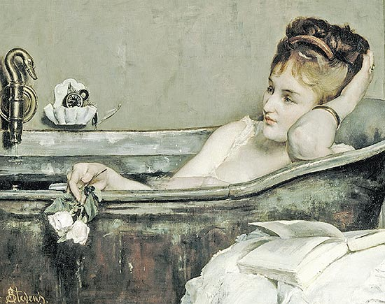 &quot;O Banho&quot;, de Alfred Stevens (1823-1906) 
