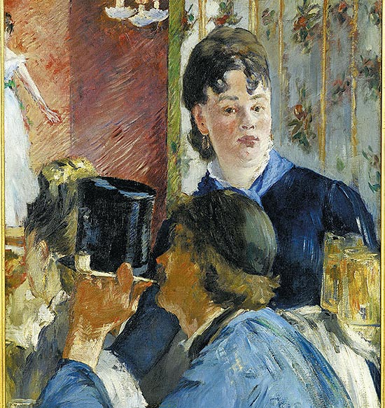 &quot;A Garonete com Cervejas&quot;, douard Manet (1832-1883) 