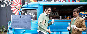 'Food truck' do Butantan Food Park (Leticia Moreira/Folhapress)