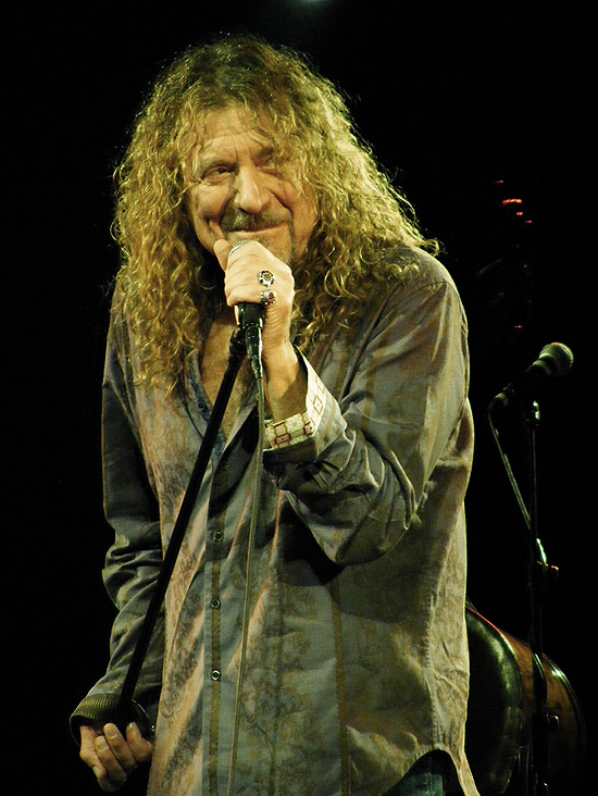 Robert Plant, a voz do Led Zeppelin