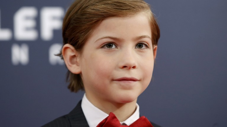 Actor Jacob Tremblay poses as he arrives at the 2016 Canadian Screen Awards in Toronto