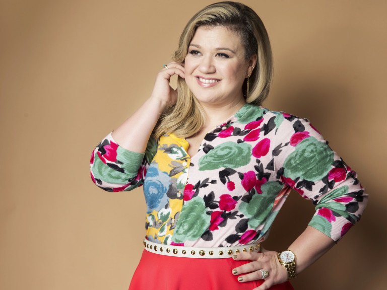 A cantora e compositora Kelly Clarkson
