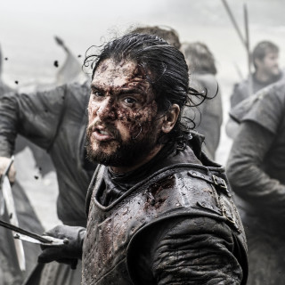 In this image released by HBO, Kit Harington portrays Jon Snow in a scene from