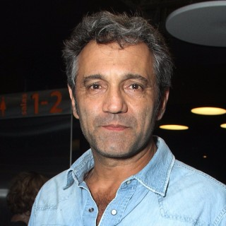 (FILES) Picture taken on November 2, 2015 in Sao Paulo, Brazil of Brazilian actor Domingos Montagner. Montagner drowned on September 15, 2016 whilst bathing in the Sao Francisco River in Caninde de Sao Francisco, Sergipe, northeastern Brazil. / AFP PHOTO / AMAURI NEHN
