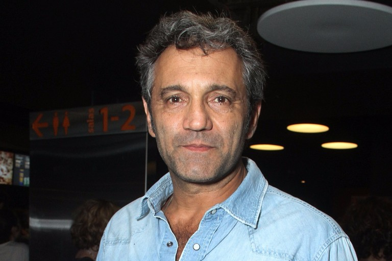 (FILES) Picture taken on November 2, 2015 in Sao Paulo, Brazil of Brazilian actor Domingos Montagner. Montagner drowned on September 15, 2016 whilst bathing in the Sao Francisco River in Caninde de Sa