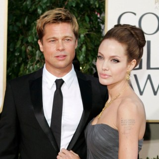 FILE - In this Jan. 15, 2007 file photo, Brad Pitt, and actress Angelina Jolie arrive for the 64th Annual Golden Globe Awards in Beverly Hills, Calif. Angelina Jolie Pitt has filed for divorce from Brad Pitt, bringing an end to one of the world's most star-studded, tabloid-generating romances. An attorney for Jolie Pitt, Robert Offer, said Tuesday, Sept. 20, 2016, that she has filed for the dissolution of the marriage. (AP Photo/Mark J. Terrill, File) ORG XMIT: NYET211