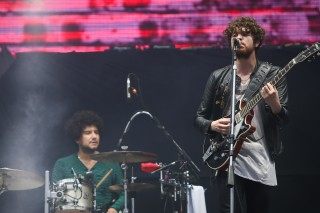 Show da banda the kooks no Lollapalooza, em 2015 *** ****