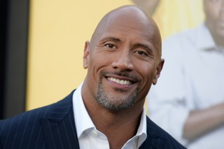 FILE - In this June 10, 2016 file photo, Dwayne Johnson attends the premiere of his film,
