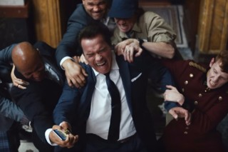 arnold schwarzenegger em comercial do game