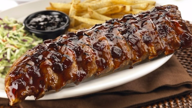 Jack Daniel's Ribs, do Friday's ***  ****