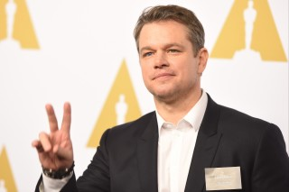 BEVERLY HILLS, CA - FEBRUARY 06: Actor/producer Matt Damon attends the 89th Annual Academy Awards Nominee Luncheon at The Beverly Hilton Hotel on February 6, 2017 in Beverly Hills, California.   Kevin Winter/Getty Images/AFP == FOR NEWSPAPERS, INTERNET, TELCOS & TELEVISION USE ONLY ==