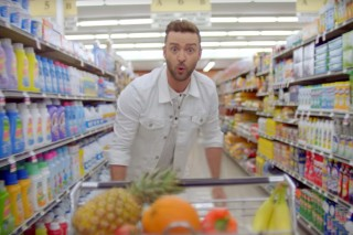 Justin Timberlake no clipe de 'Can't  Stop the Feeling'
