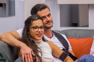 Emilly e Marcos no 'Big Brother Brasil 17'