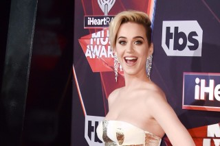 INGLEWOOD, CA - MARCH 05: Musician Katy Perry attends the 2017 iHeartRadio Music Awards which broadcast live on Turner's TBS, TNT, and truTV at The Forum on March 5, 2017 in Inglewood, California.   Alberto E. Rodriguez/Getty Images/AFP == FOR NEWSPAPERS, INTERNET, TELCOS & TELEVISION USE ONLY ==