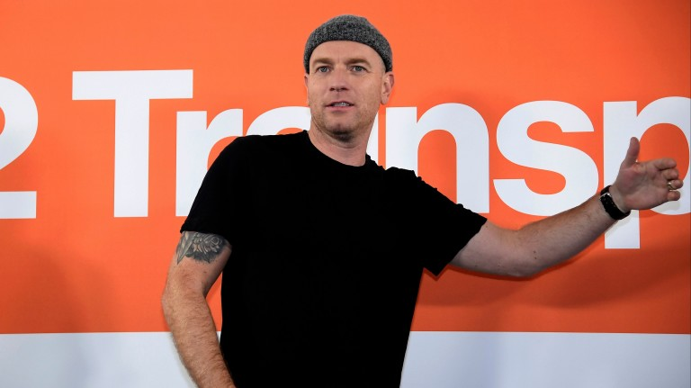 "Actor Ewan McGregor attends a media event  for the film ""T2 Trainspotting"" in London"