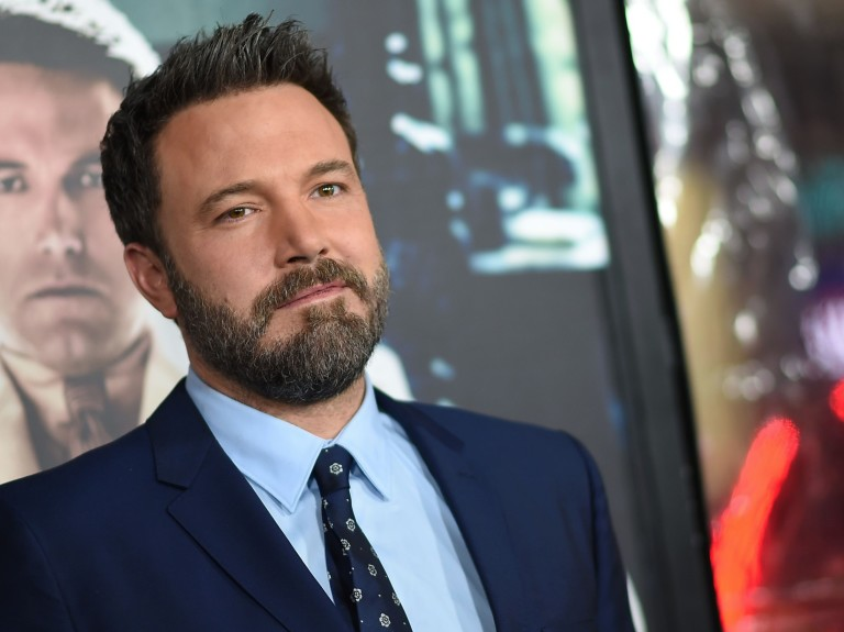 "(FILES) This file photo taken on January 10, 2017 shows actor Ben Affleck as he arrives for the world premiere of Warner Bros. ""Live By Night,"" at the TCL Chinese Theater in Hollywood, California. Act"