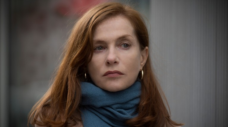 "This image released by Sony Pictures Classics shows Isabelle Huppert in a scene from, ""Elle."" Huppert iss nominated for an Oscar for best actress in a leading role for her work in the film. The 89th A"