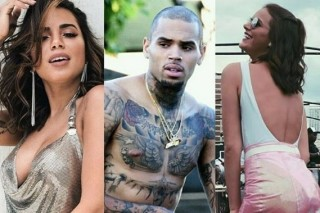 O cantor norte-americano Chris Brown começou a seguir Anitta e BRuna Marquezine no Instagram