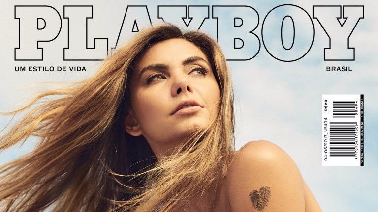 Leticia Datena na capa da 'Playboy' *** ****
