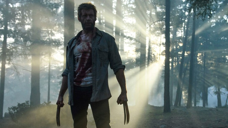 "This image released by Twentieth Century Fox shows Hugh Jackman from the film, ""Logan."" (Ben Rothstein/Twentieth Century Fox via AP) ORG XMIT: NYET471"