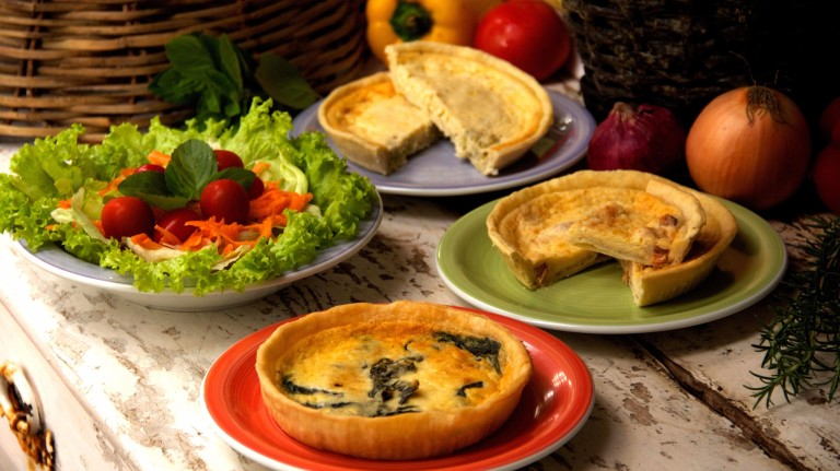 Quiches do restaurante Picnic *** ****