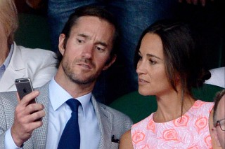 Pippa Middleton e o noivo, James Matthews